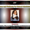 Self-care and Wellness for School Administrators