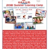CAS-CIAC Pilots Summer Learning Camp