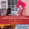 Announcing the 20th Annual Elementary Arts Banquet