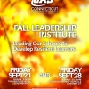 Announcing the Fall Leadership Institute