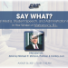 """Say What?! - A Legal Webinar on the Ruling in the """"Cursing Cheerleader Case"""""""