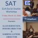 SAT ELA/Social Studies Workshop Returns in March 2020