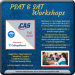 PSAT-SAT Workshops - Fall 2019
